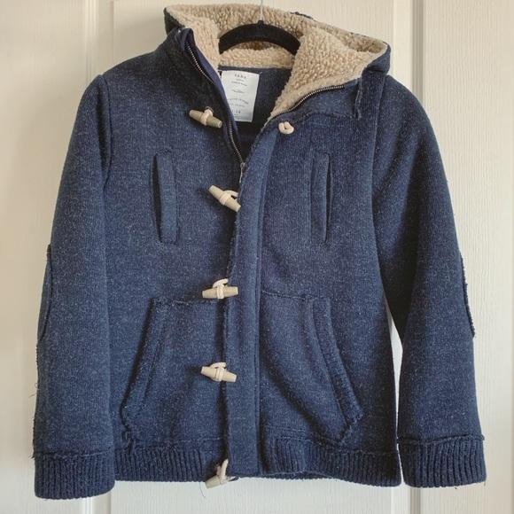 Zara Other - Boy's Zara Wool Hoodie Jacket